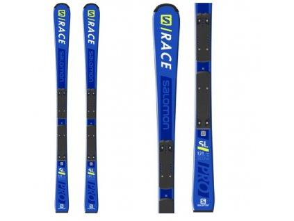 Zjazdové lyže Salomon S / RACE PRO Jr. SL + viazanie L 10 18/19 (dĺžka lyže 131)