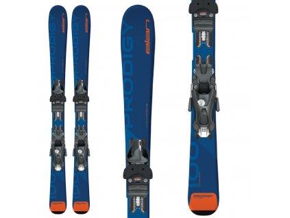 Zjazdové lyže Elan PRODIGY JR + viazanie QS EL 4.5 19/20 (dĺžka lyže 120)