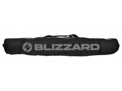 7661 blizzard ski bag premium 2 pary black silver 160 190 cm