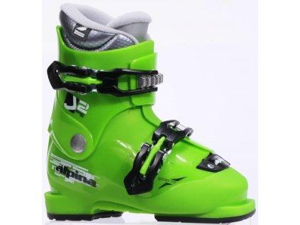 Lyžiarske topánky Alpina 3F24-1 J2 green 18/19 (veľkosť EUR 30.5)