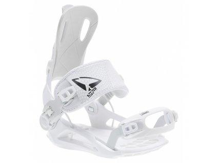 Snowboard viazanie SP FASTEC 270 - White / Black (varianta S)
