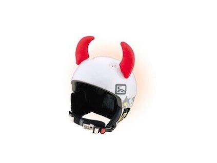Teplo-uši Uši Rožky červené veľké (varianta univerzálne)