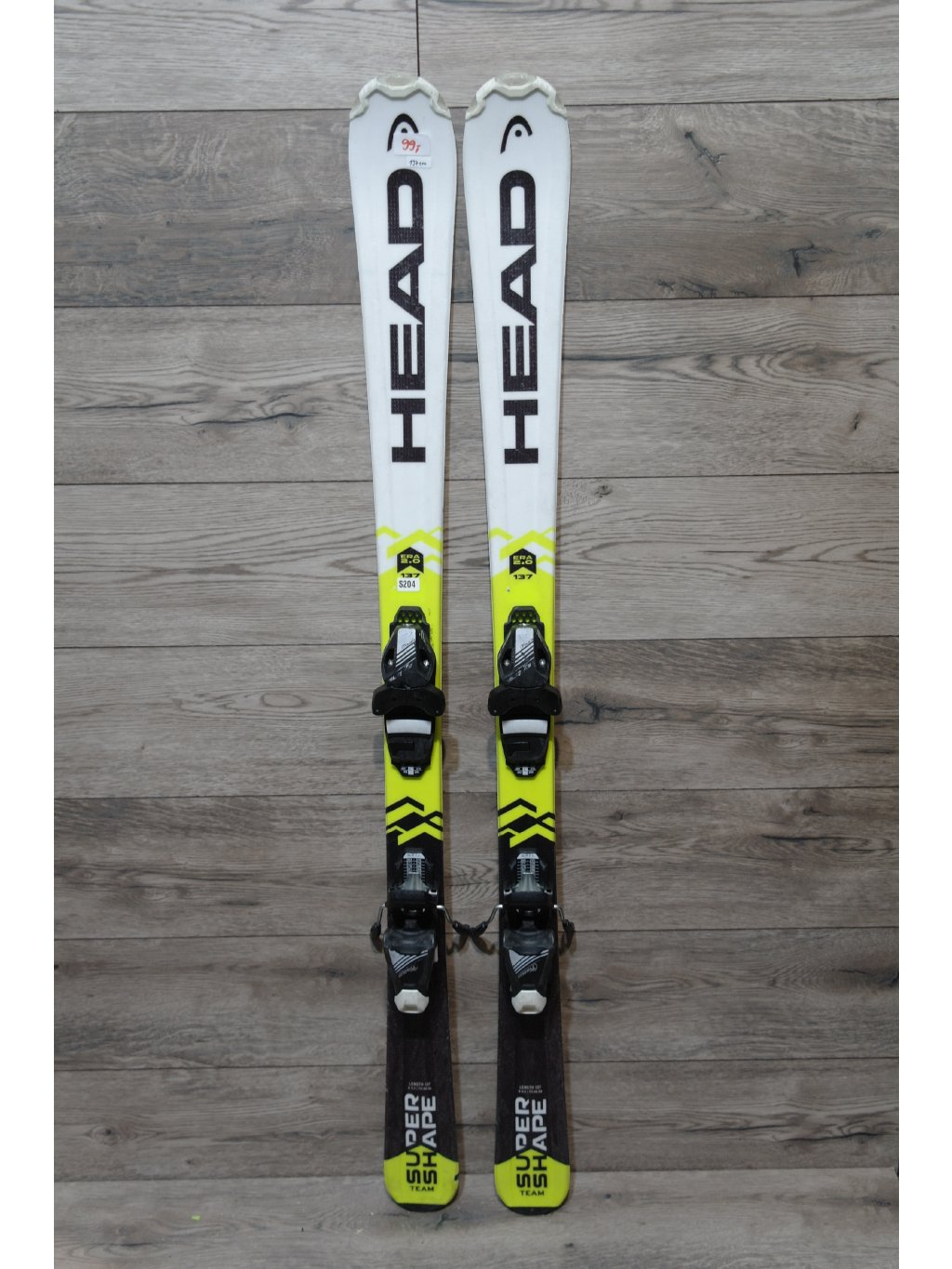 Head Supershape SLR 137cm