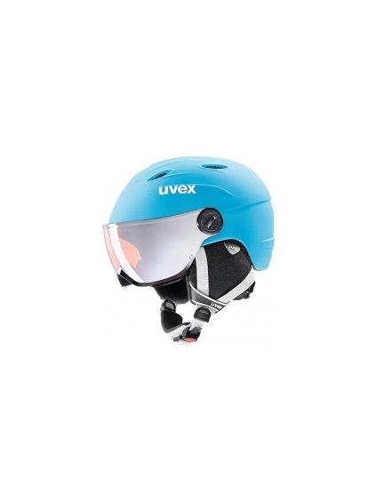 Uvex Visor Pro Jr. Blue (52-54)