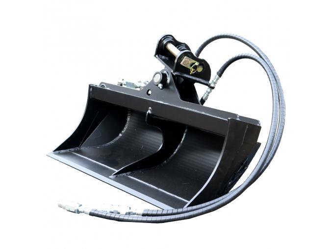 """Bobcat E17 hydraulická svahová lžíce 39"""" / 1000 mm"""