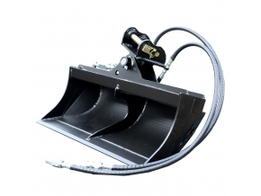"""Bobcat E19 hydraulická svahová lžíce 39"""" / 1000 mm"""