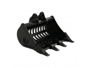 "JCB Mini CX prosévací lžíce 24"" / 600 mm"