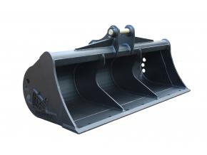 """Hitachi EX80-5 (čepy 45 mm) svahová lžíce 60"""" / 1500 mm"""