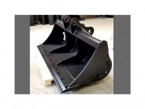 """Hitachi ZX85 (čepy 50 mm) svahová lžíce 72"""" / 1800 mm"""