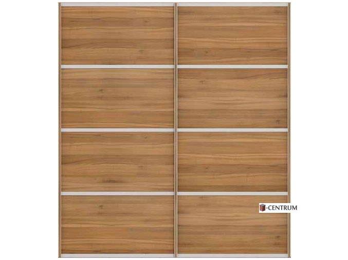 šatní skříň Duo výška 220 cm š.240 - 270 cm