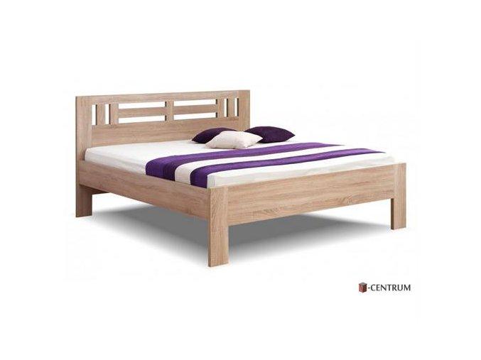 BMB postel Ella Moon dvoulůžko vystavená na prodejně
