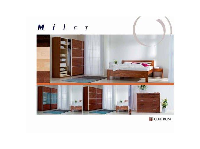 Ložnice řada Milet - bukový masiv