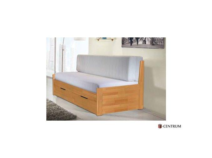 Tandem klasik -  pohovka, masivní rozkládací postel