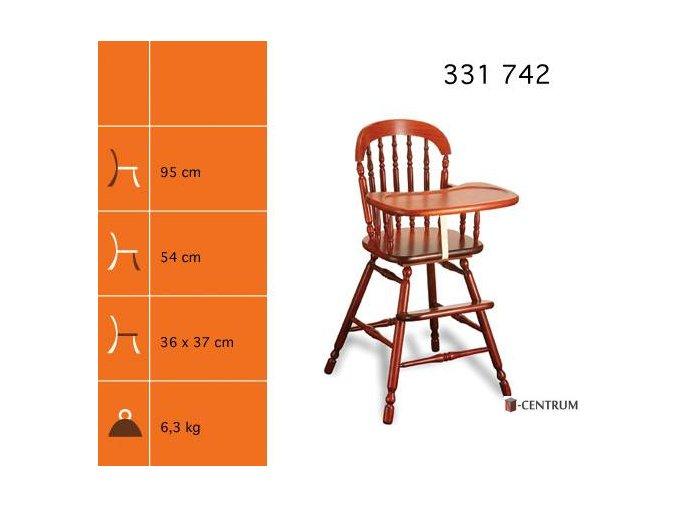 dětská židlička  331 742