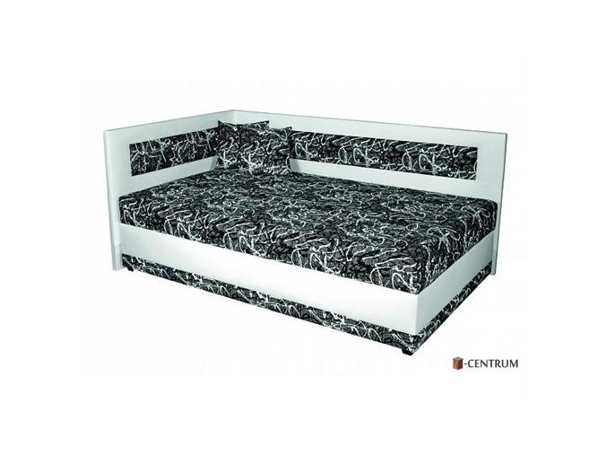 Rohová postel Lucia 140 cm