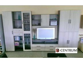 Sektorový nábytek EXCEL obývací stěna