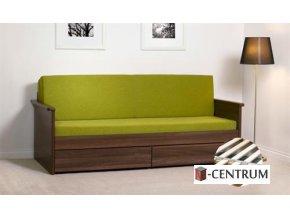 BMB Jora TANDEM - rozkládací postel s úložným prostorem bez područek  Akční cena !!!