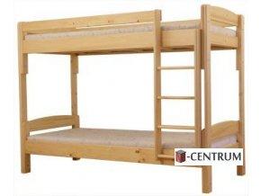 (K2) Patrová postel rozkládací