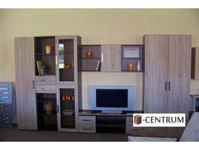 obývací sektorová stěna Excel