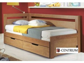 BMB TANDEM - rozkládací postel s úložným prostorem