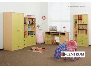 dětský sektorový pokoj
