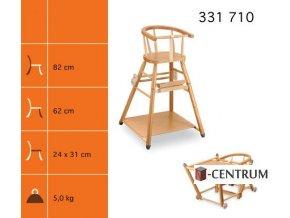 dětská rozkládací židlička SANDRA 311 710