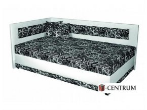 Rohová postel Lucia 90,100 cm