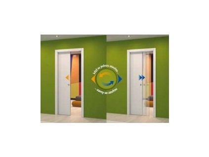 Samozavírání pro jednokřídlé dveře