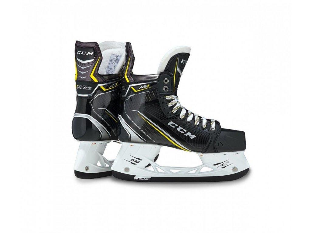 Hokejové brusle CCM Supertacks AS1 - SR (Senior) 8.5 EE