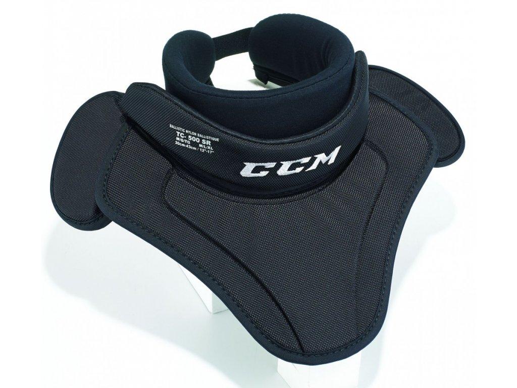 Chránič krku CCM 500 - JR (Junior) ONESIZE Black