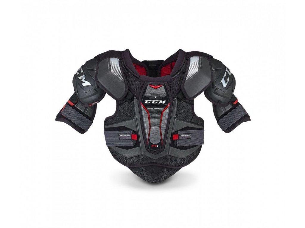 Hokejové chrániče ramen CCM Jetspeed FT1 - Yth (Dětské) S (ramena)