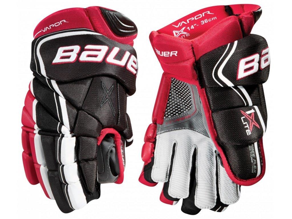 """Hokejové rukavice BAUER VAPOR 1X LITE SR 15"""" Black (černá), 2018 - 105304915BLK"""