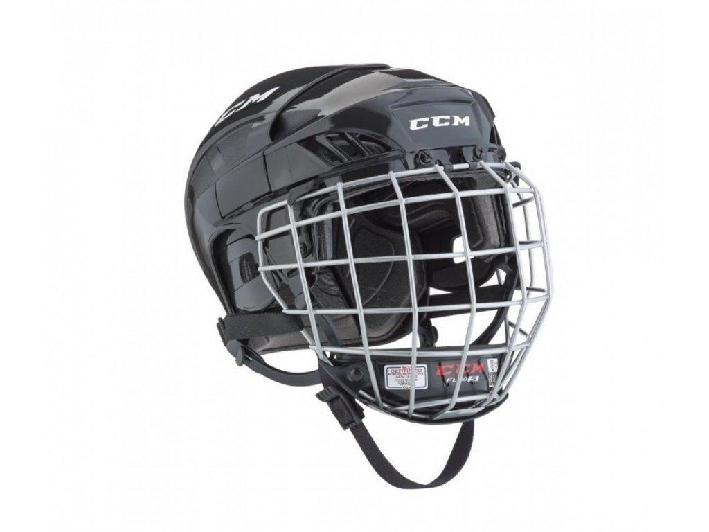 Hokejová helma FL40 (Fitlite 40) - JR (Junior) XS White (combo)