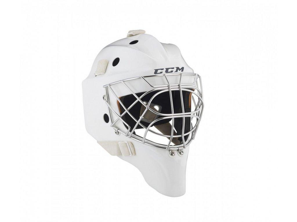 Brankářská maska CCM Pro - SR (Senior) XL White