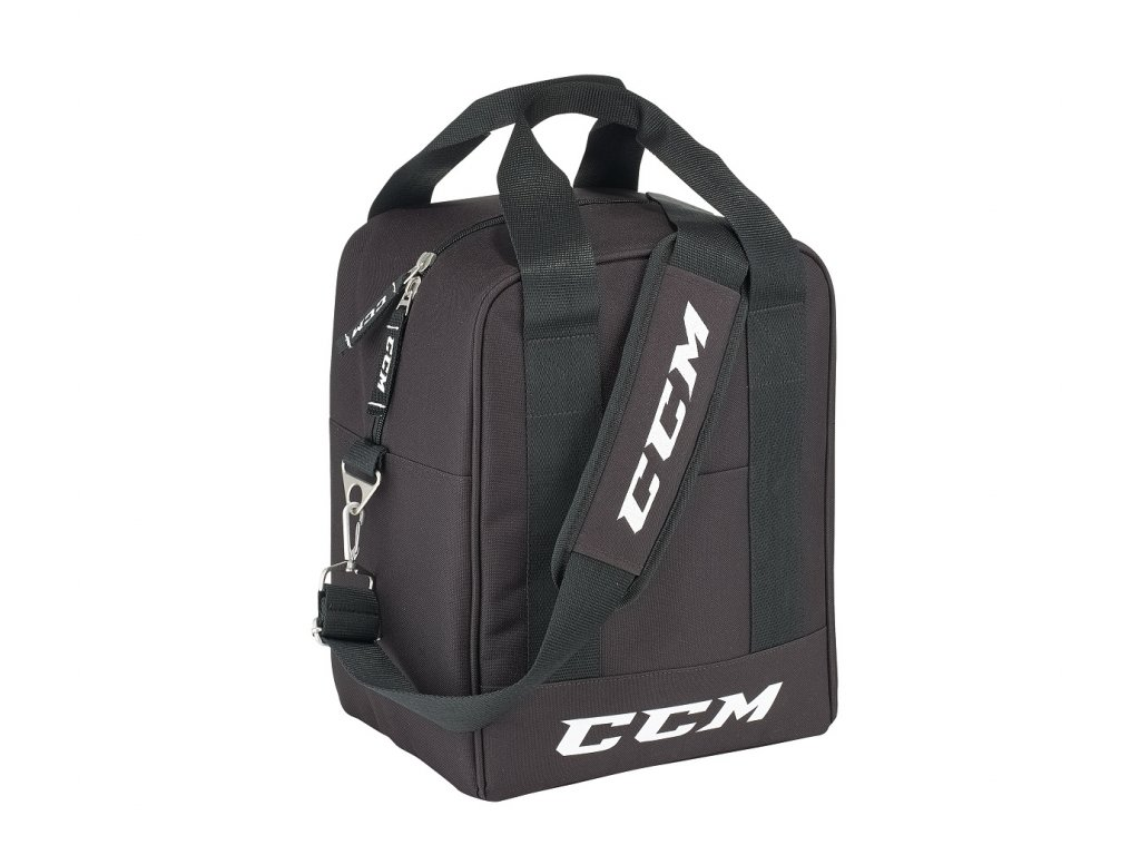 "Hokejová taška CCM Puck Bag Deluxe - 11"" Black"