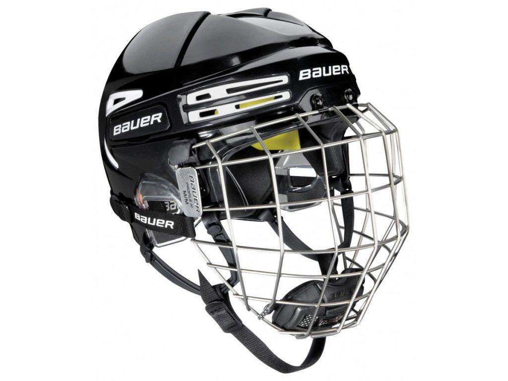 Hokejová helma BAUER RE-AKT 75 - BLU (combo) L  blue