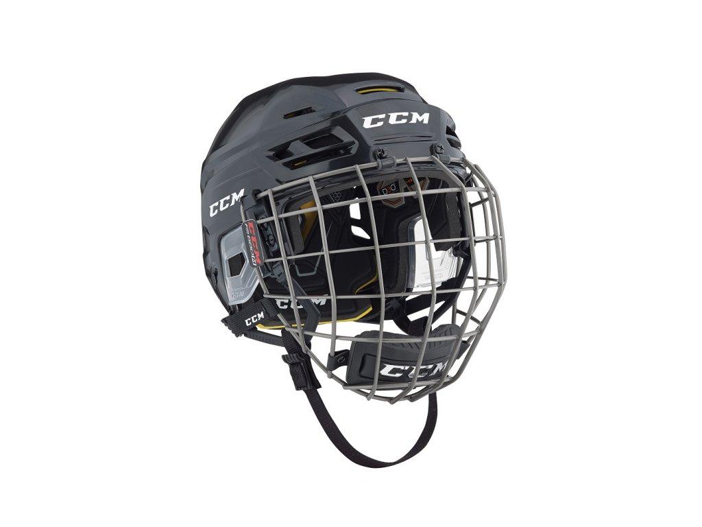 Hokejová helma CCM Tacks 310 - S Navy (combo)