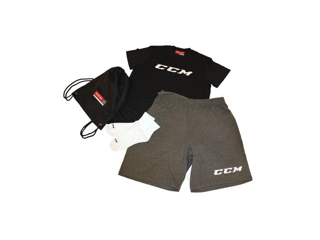 Sada tréninkového textilu Dryland Kit CCM - JR (Junior) 140 Black