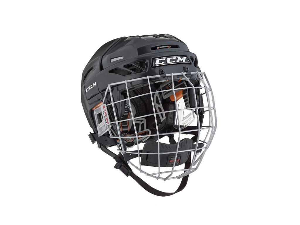 Hokejová helma CCM Fitlite 3DS - Yth (Dětské) XS White (combo)