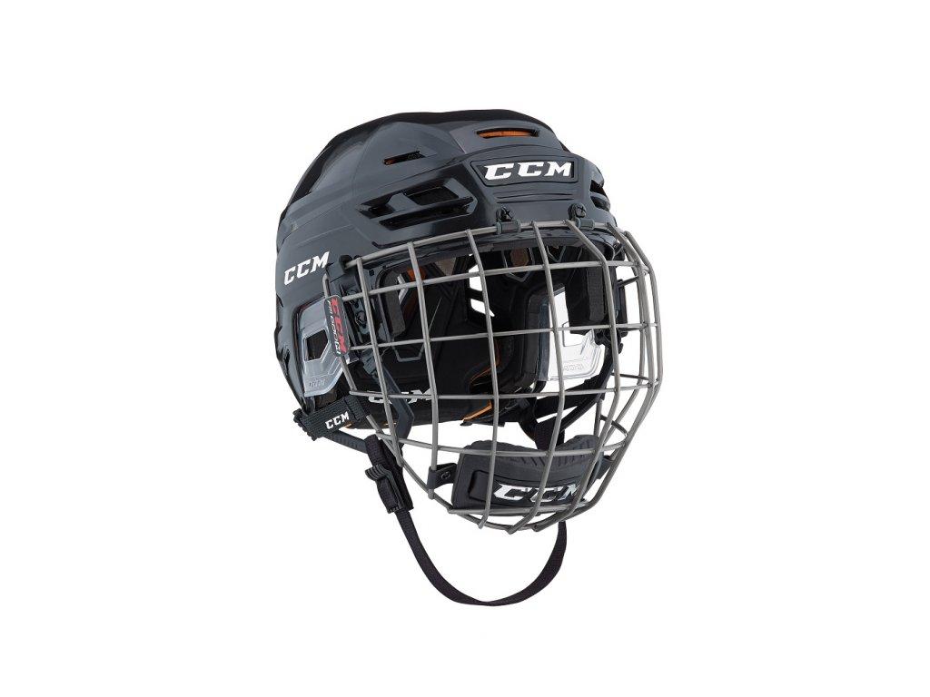 Hokejová helma CCM Tacks 710 - S Navy (combo)