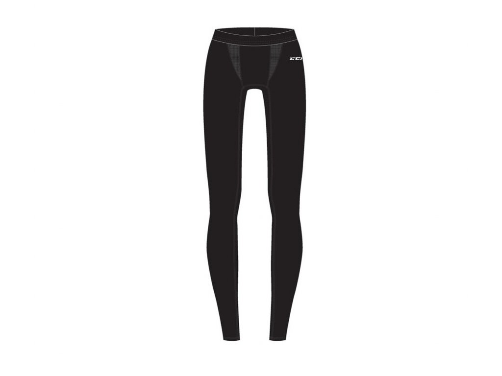 Kalhoty CCM Perf Compression - SR (Senior) XL Black