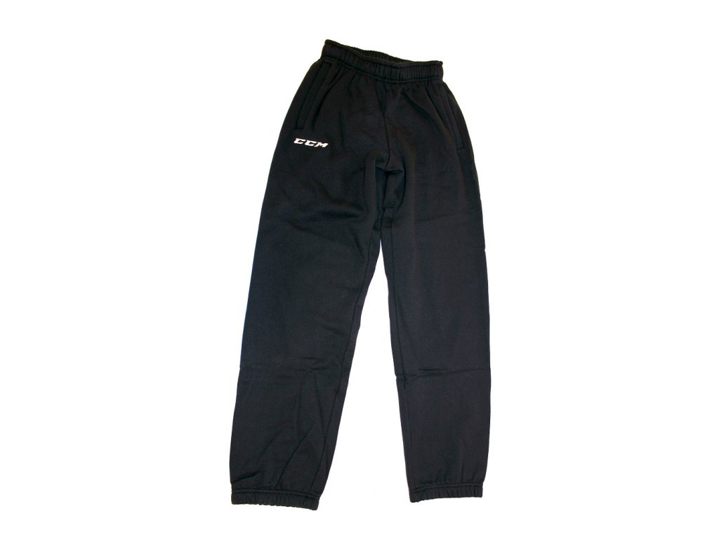 Hokejové kalhoty CCM Sweat Pants - SR (Senior) L Navy
