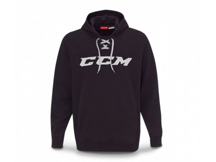 Mikina CCM Hockey Hood - JR (Junior) 120 Black
