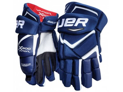 "Hokejové rukavice BAUER Vapor X800 JR (Junior) 12"" blue-red-white"
