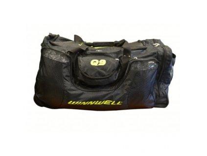 taska winnwell q9 wheel bag sr černá