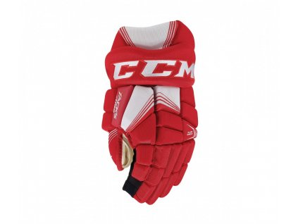 Hokejové rukavice CCM Tacks 7092 - JR (Junior) 10 Red/White