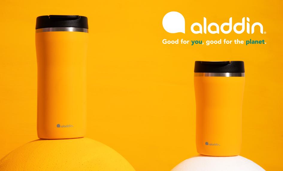 Aladdin - kvalitní termohrnky a lahve na pití