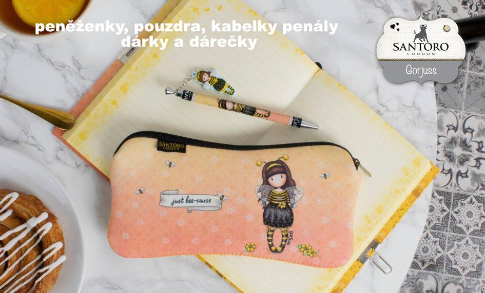 SANTORO LONDON - kabelky, peněženky, zápisníky, diáře, dárkové předměty
