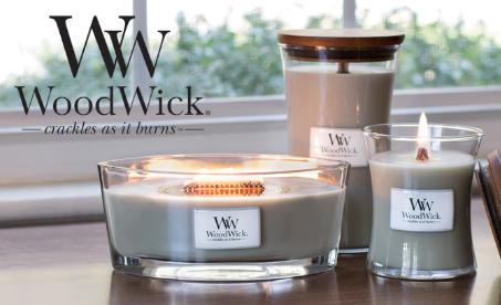 WoodWick - kvalitní svíčky s dřevěným knotem
