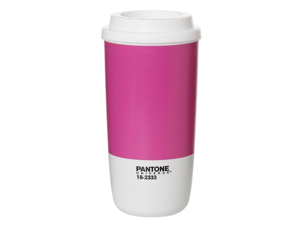 Pantone termohrnek Thermo Cup Rasberry Rose
